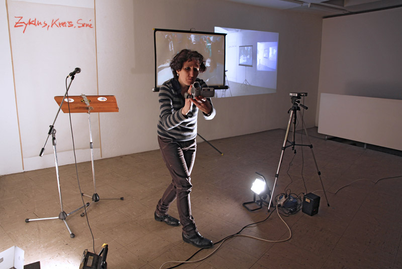 performing artist's documentation of the audience
